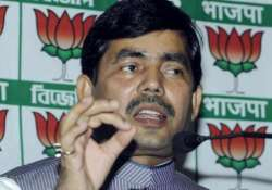 bjp never commented on nehru s clothes shahnawaz hussain