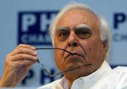 spectrum auctions are crucially flawed says kapil sibal