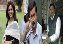 nine out of 18 aam aadmi party candidates in delhi are