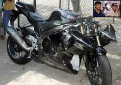 azhar s son s super bike was registered in shoe trader s