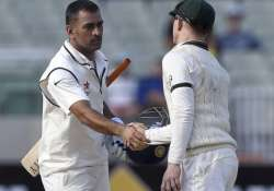 dhoni may return home before india s final test against