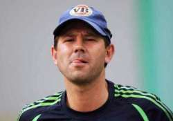 ponting s match fixing doubts drift a little