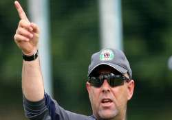 world cup 2015 lehmann unfazed by icc s crackdown on bad