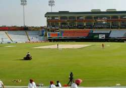 mohali to offer batting track with slight grass