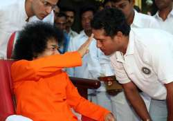 sachin grieves for sai baba do not disturb sign on door