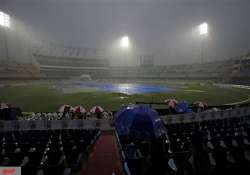 1st t20 called off as rain plays spoilsport in yuvi s
