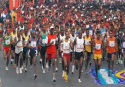 ethiopians dominate pune international marathon