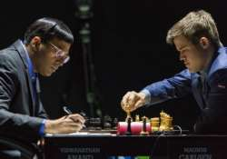 anand faces difficult situation against carlsen