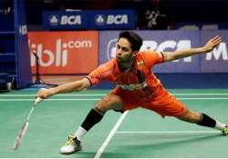 parupalli kashyap loses to momota in indonesia open semis