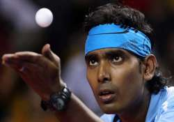 sharath to lead indian tt squad at tokyo worlds