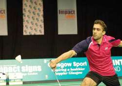 shuttler anand pawar crashes out of swiss open.