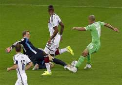fifa world cup germany algeria going into extra time at 0 0