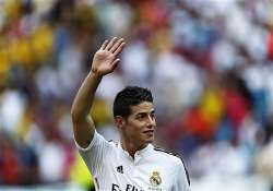 james rodriguez to make real madrid debut in super cup