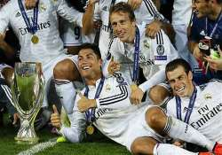 ronaldo double clinches super cup for real madrid