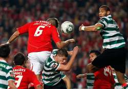 sporting held to 1 1 draw at academica in portugal