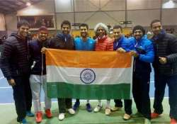 davis cup india win advance to world group play offs