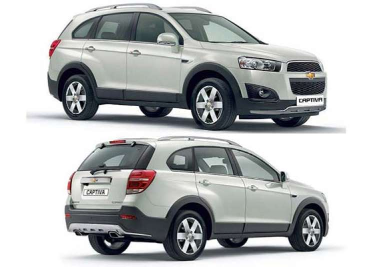 gm india launches new facelifted 2013 chevrolet captiva- India Tv