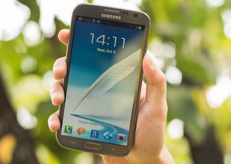 hands on samsung galaxy note 2 n7100- India Tv