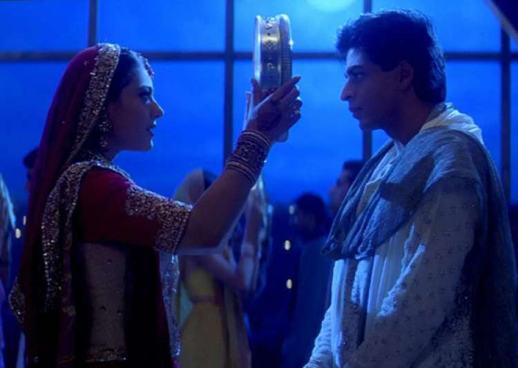 a look at some great karwa chauth numbers in bollywood films- India Tv