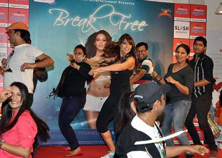 bipasha launches her second dvd break free- India Tv