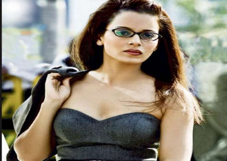 dacoits in chambal stop kangana ranaut s convoy during- India Tv