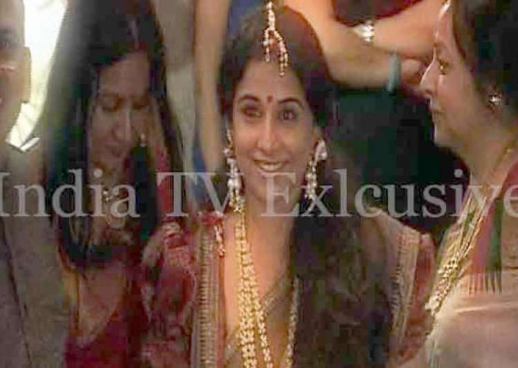 know the guest list for vidya balan s wedding- India Tv