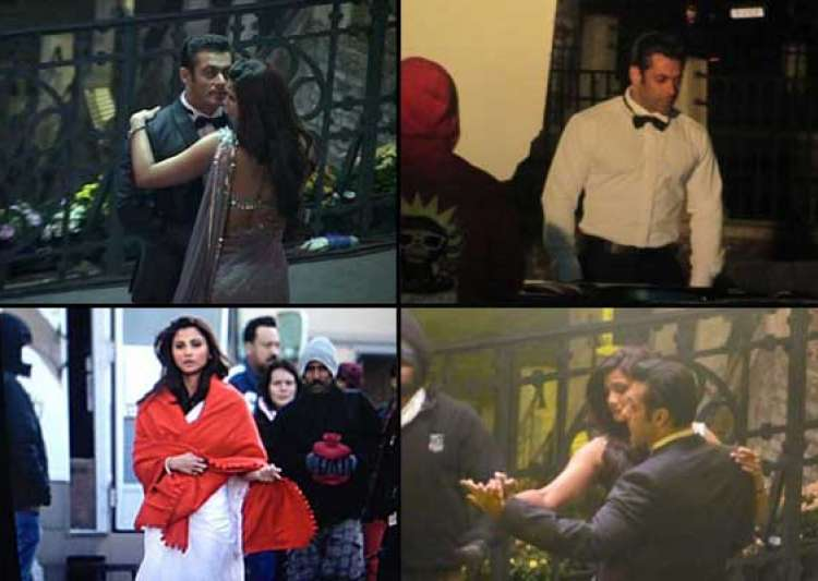 salman khan romances daisy shah on jai ho sets view pics- India Tv