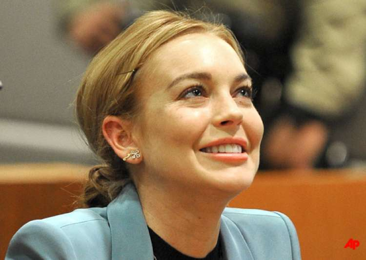 lohan gets freedom probation ends- India Tv