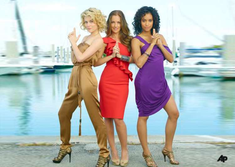 low rated charlie s angels grounded by abc- India Tv