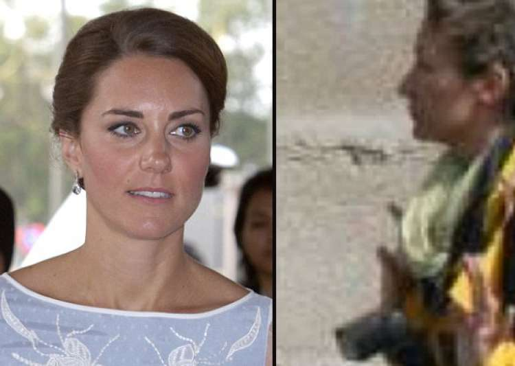 kate was sunbathing on terrace in full view of the road- India Tv