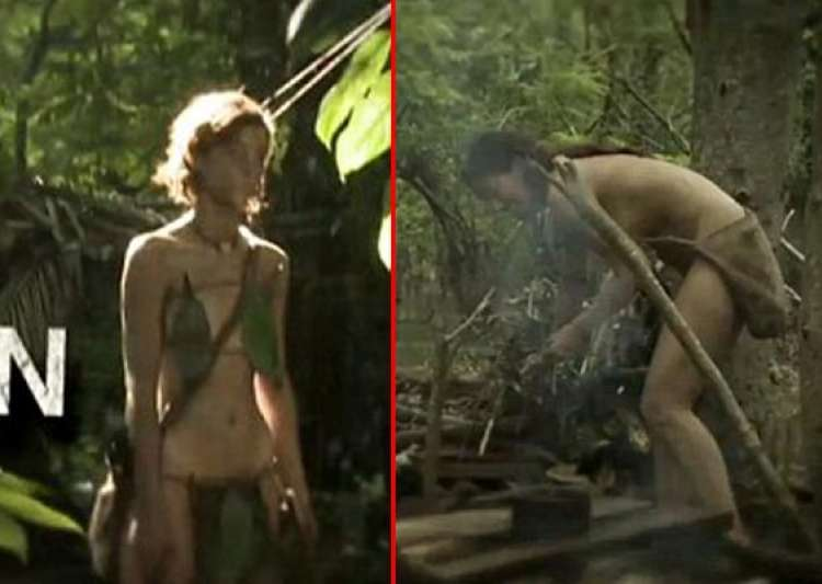 nude couples in forest without food compete in discovery- India Tv