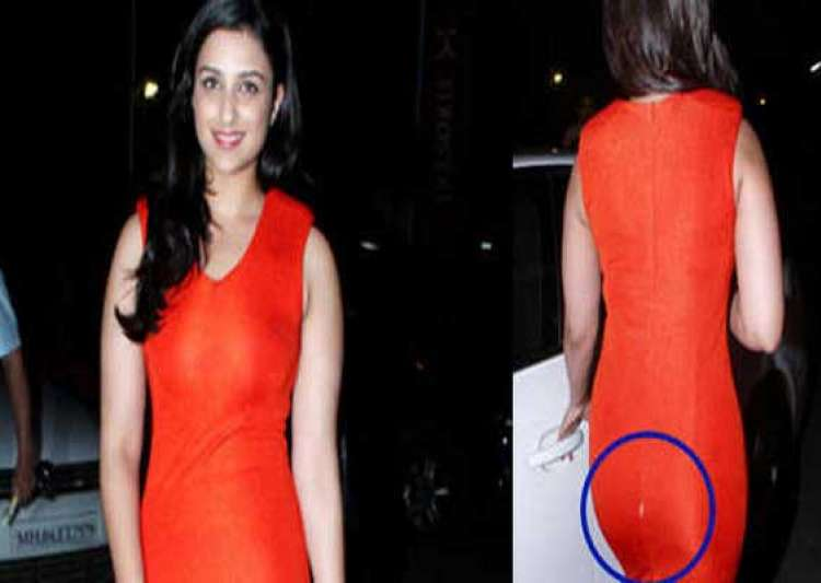 parineeti chopra suffers wardrobe malfunction- India Tv