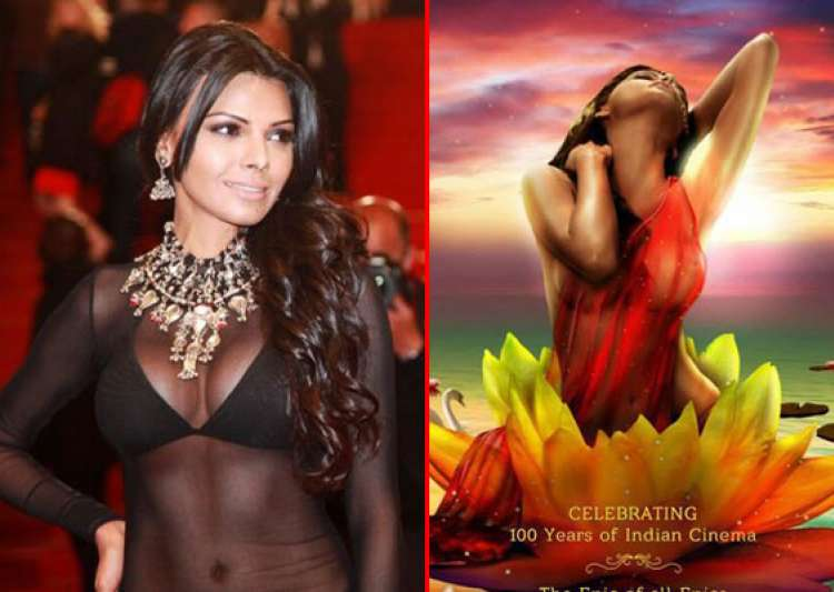 sherlyn chopra unveils new poster of kamasutra 3d at cannes- India Tv
