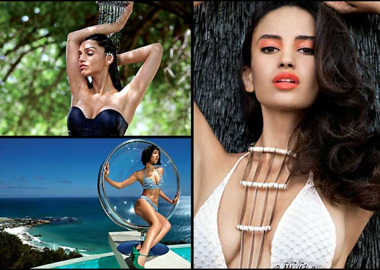 kingfisher reveals supermodels for 2014 calender photoshoot- India Tv