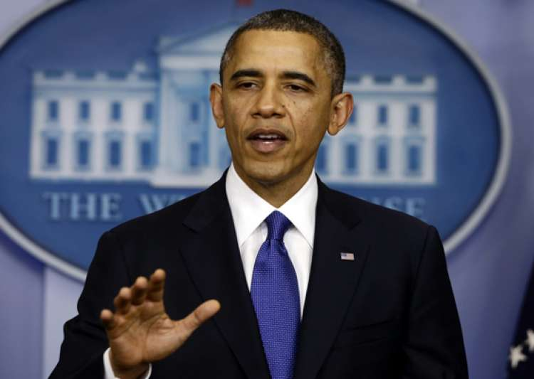 barack obama takes oath in a position of strength- India Tv