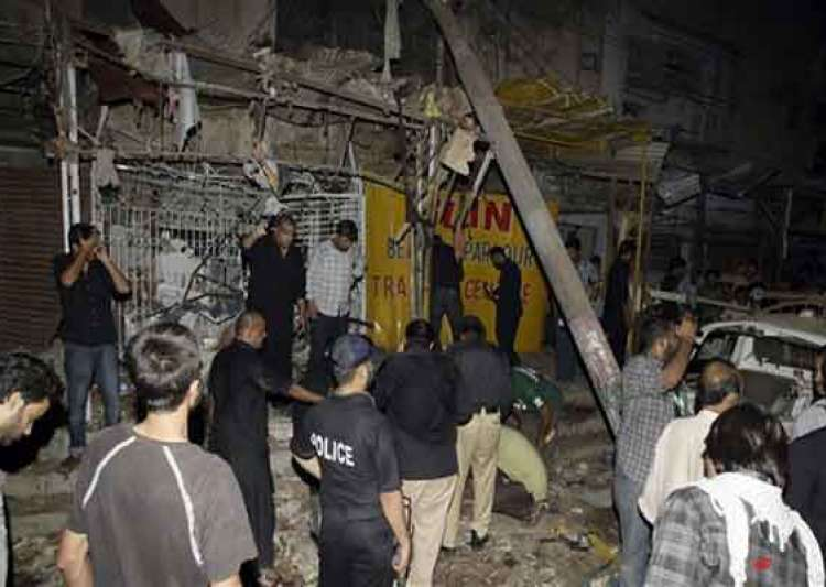 three killed 23 injured in karachi mosque blast- India Tv