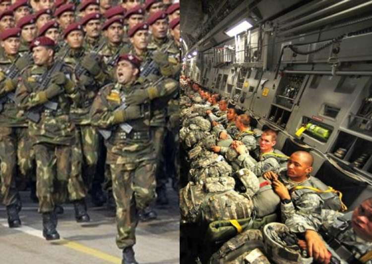 world s top 10 largest armies indian army at no 3- India Tv