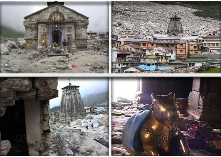 uttarakhand india tv exposes govt s claims kedarnath temple- India Tv