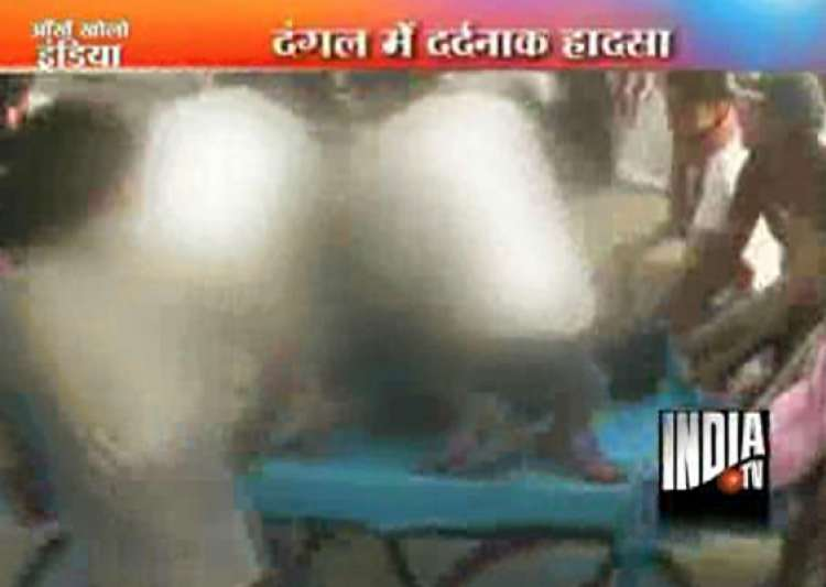 victorious wrestler electrocuted in ring- India Tv