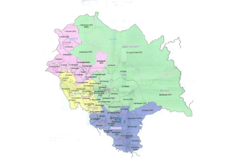 detailed results himachal pradesh assembly elections 2012- India Tv