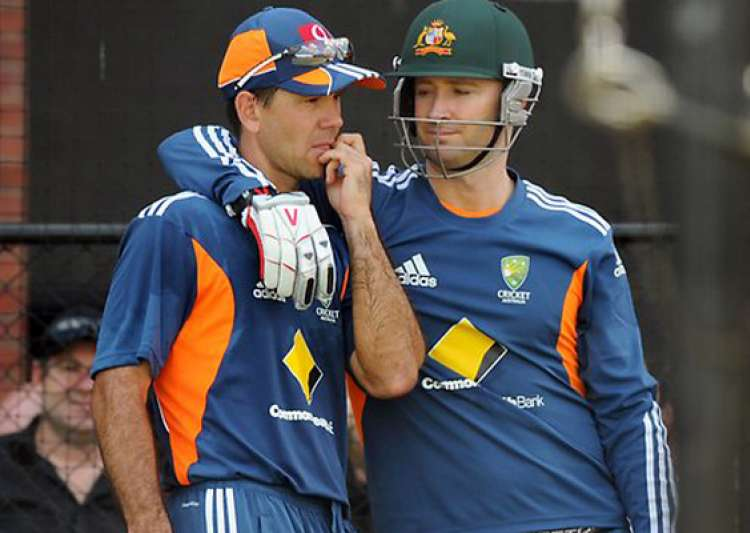 it will feel weird to play without ponting says clarke- India Tv