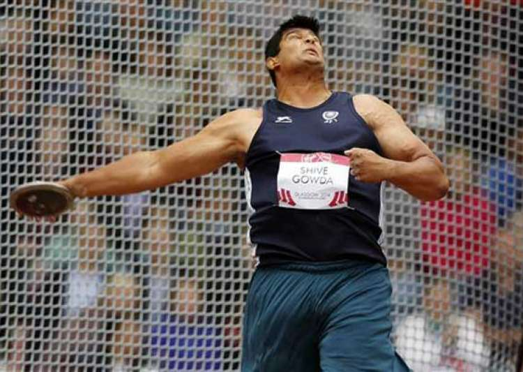 cwg 2014 gowda wins india s first 2014 cwg athletics medal- India Tv