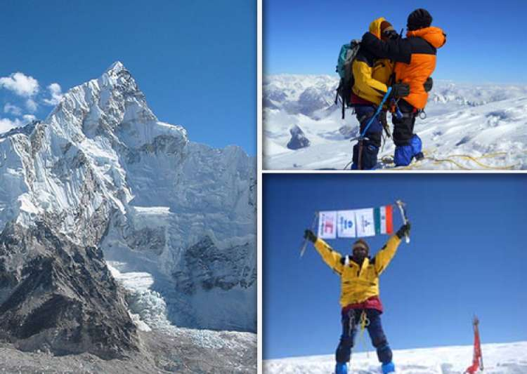 three mountaineers from jharkhand scale mt everest- India Tv