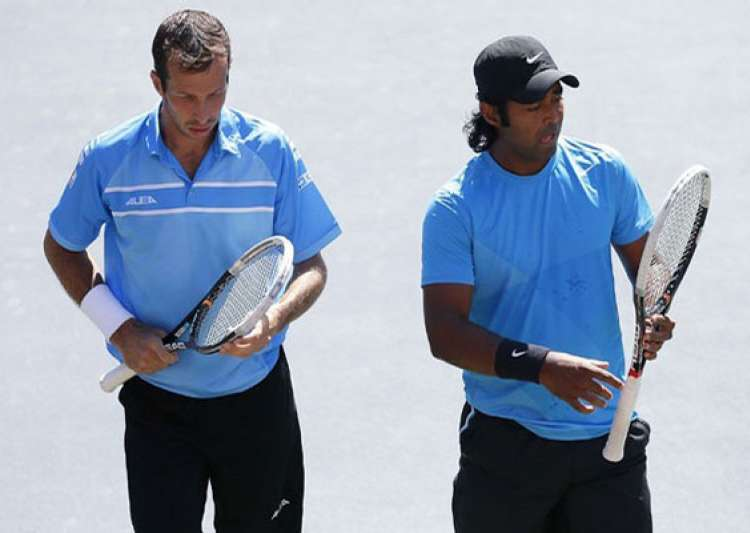 paes stepanek lose in japan open final- India Tv