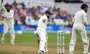 India captain Virat Kohli fell three runs short of a