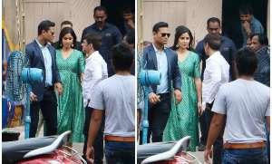 Bollywood actress Katrina Kaif was spotted at Mehboob