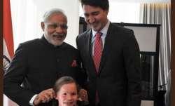 PM Modi with Canadian PM Trudeau