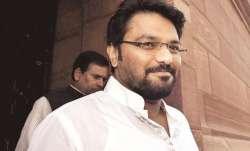 File pic of Union Minister Babul Supriyo