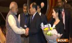 PM arrives in Wuhan for informal talks with Xi