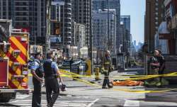 9 killed, 16 injured as van drives into pedestrians in